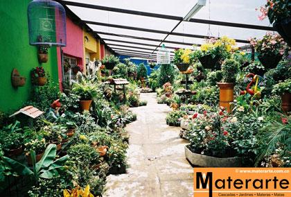 Materarte Cascadas Jardines Materas Matas Decoraci N