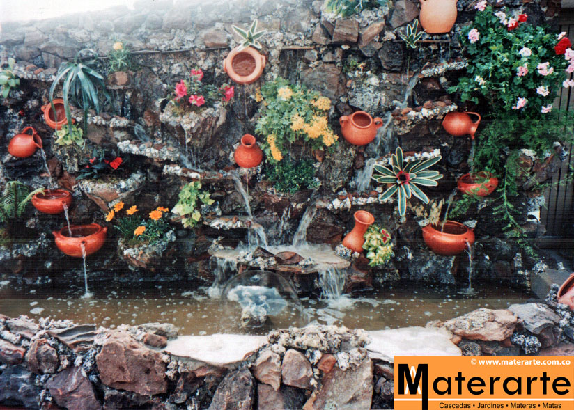 Materarte dise o construcci n y mantenimiento de - Diseno de cascadas para jardin ...
